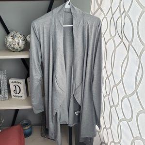 Light Grey Long sleeve cardigan